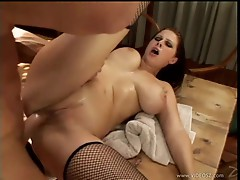 Gianna Michaels gets her moist pussy stuffed with cock