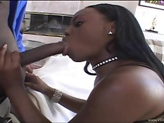 Racy Jade Fires wraps her wet lips round this hard dick