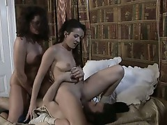 Dick gets shared my whores Elexis Monroe and Magdalene St Michaels