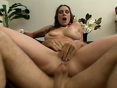 Rucca Page love to have cock stufed in her eager and willing holes