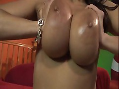 Carmella Bing loves to have her fat tits put on display when she fucks