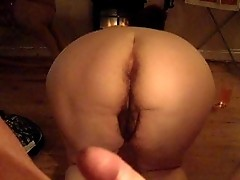 Enjoy my wifes hairy pussy and dirty fat ass - she wants ur comments!