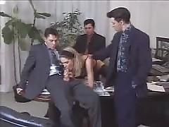 Hot Secretary lets all her Bosses fuck her...F70
