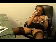 Office Milf Secretary Nika Noir SM65