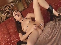 Queen Of Sex Sasha Grey Entertains Herself