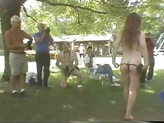 Fun at a Nudist rally 22