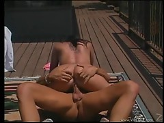 Randy Olivia Olovely rides her pussy on this hard dick