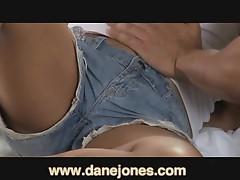 DaneJones Sweaty lovemaking with sweet couple