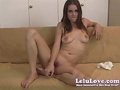Lelu Love-Virtual Impregnation Jerkoff Encouragement