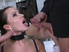 Cindy Dollar can't stop at only one dick and has herself a buffet