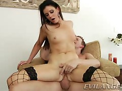 India Summers bounces her hot ass on this hard prick