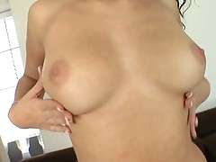 Brittany Banxxx gorgeous globes are doused with juice