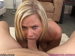 Anna Joy Fingers her self and Sucks a Big Dick!
