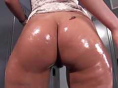 Oily fuckslut Charley Chase is slipped a sly fuckpole