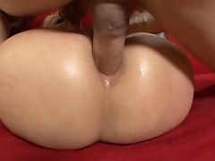 Phoenix Marie takes some serious slamming right in her ass shitter