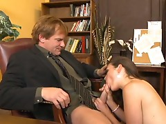 Allie Haze doesn't give a fuck except in the office to her boss