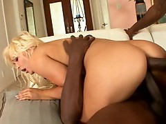 Nicky Angels has all her holes covered in this hot threesome scene