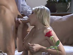 Lip spreading and penetration pounding is the lusty harlot Shawna Lenee