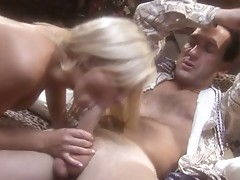Sleazy Bree Olson knows cock just like the back of her own throat