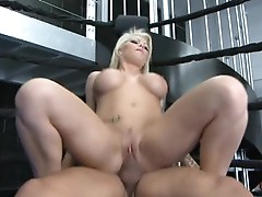 After pushing it at the gym Brooke Haven is craving a good fucking