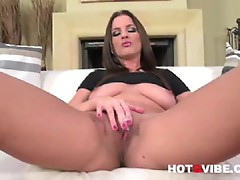 Brunette Strips and plays