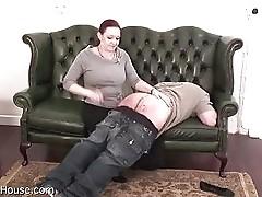 aunty grey spanking