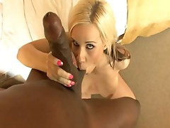 Mandingo uses his big black cock to make Rachel Solari moan and groan