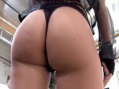 Riley Evans gets her tight asshole filled with a hard cock and a fun toy