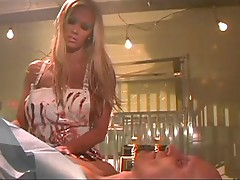 Jenna Jameson is all pro when a cock comes in hard and wants to be soft again