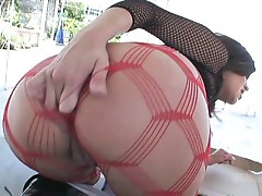 Michelle Avanti goes on ahead with the dick still pummeling her ass