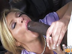 Ginger Lynn - My mom love big black cock!