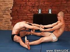 Mikhail Nesersev vs Anton Kretek Nude Wrestle