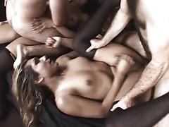 Shemale orgy ass fucking hard like hell