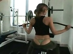 Teen In The Gym
