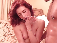 British red head anal in red boots