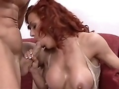 Shannon Kelly attacks a pecker as if it's first bj