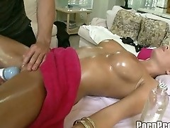 Hot Big Tit Bombshell Massage. p5