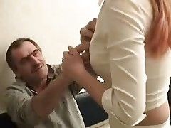Drunk Daddy Gets His Way !