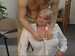 Big Jugged Blond Mom