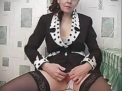 Old but sexy russian teacher