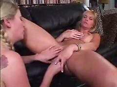 Mature Mom Seducing Young Girl