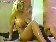 Jill Kelly and Rebecca Wild goes crazy in the bathtub. They take turns lapping each other's pussies and rubbing their tight hot bodies in the bub