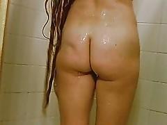 Lena's Wet Hair Tease