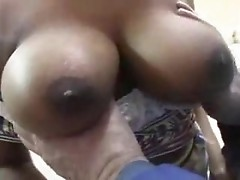 Busty german female gives a head then gets pussy teased and fucked well