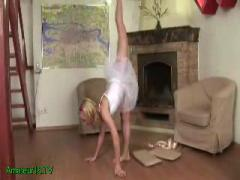 sweet flexible teen