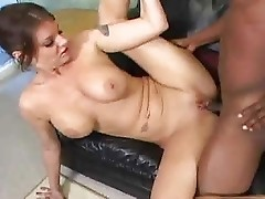 Kayla loves black dick