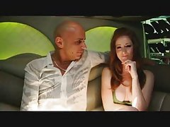 backseat fun in a Limo - Nikki Rhodes