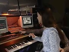 German Teen pounded in Music Studio