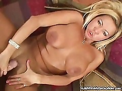 Sex hungry MILF giving this horny dude an awesome pleasure