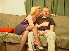 Mature Mom Fucking A Young Boy